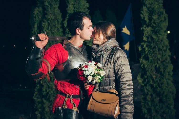 Неймовірне лицарське освідчення у Львові