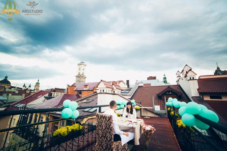 Побачення на даху у Львові