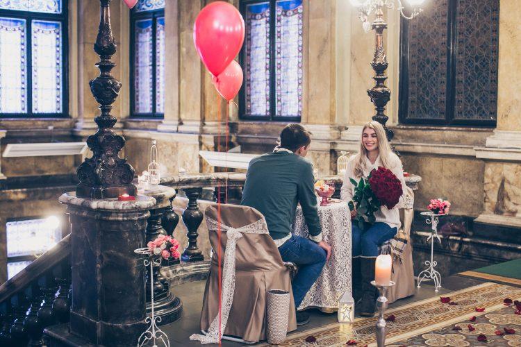 Романтичне побачення в музеї
