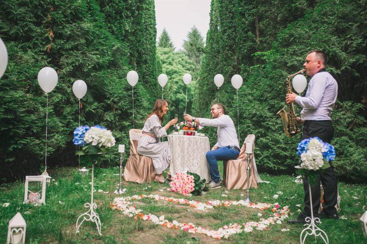 Сказочное свидание в дендропарке
