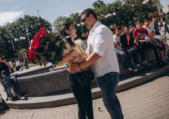 Яскраве освідчення-флешмоб в Івано-Франківську