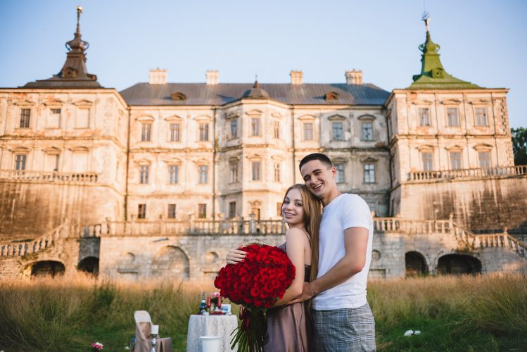 Чарівне освідчення біля Підгорецького замку